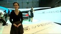 Peugeot concept 5 - En direct du salon de Genève 2010
