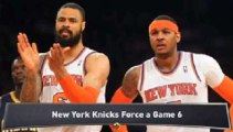 Knicks Force a Game 6; Spurs Advance