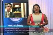 Jorge Rivera responde preguntas de los televidentes de Telediario Noticias