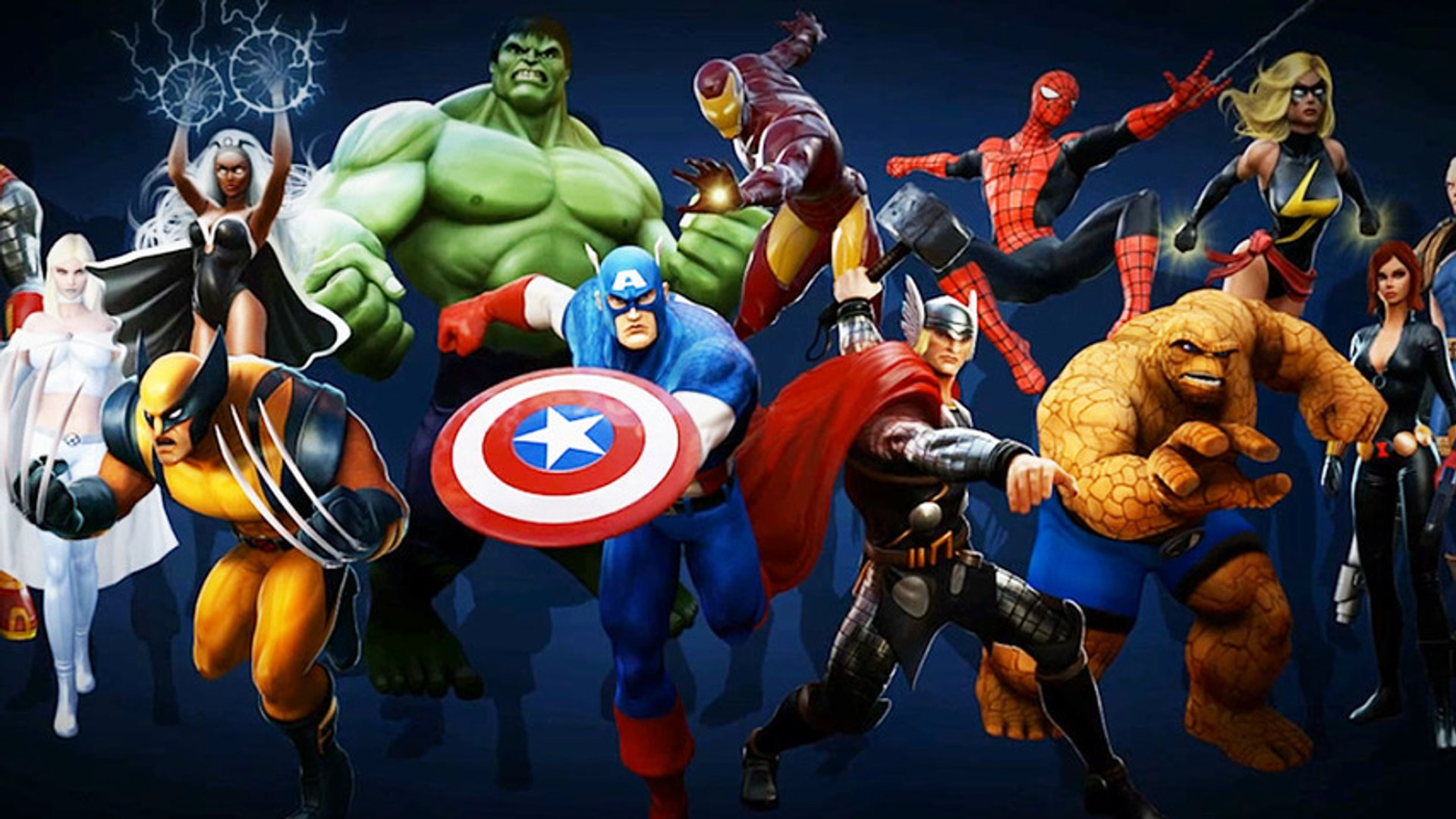 CGR Trailers - MARVEL HEROES The Voices of Marvel Heroes Developer Diary