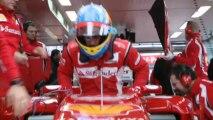 La Ferrari F150 en piste à Fiorano