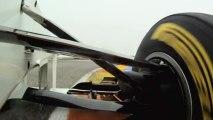 La Sauber C30 en caméra embarquée
