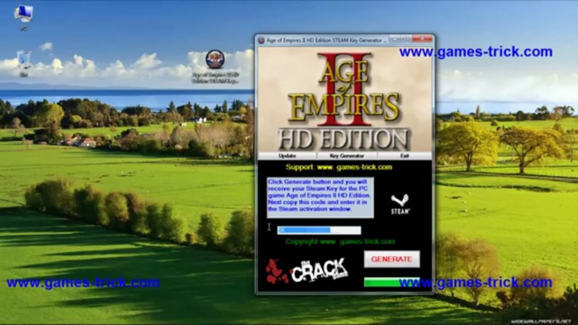 Age of Empires II HD Edition STEAM Key Generator