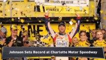 Spencer: Johnson Wins 4th All-Star Race