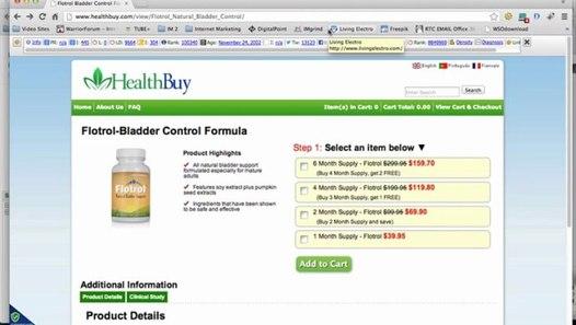 Flotrol Bladder Control Formula Flotrol Bladder Control Formula