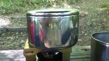 LOGOS製コンロ /  LOGOS made pocket tablet stove set (part 2)