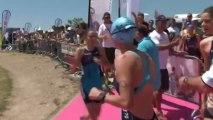Resume Triathlon Toulouse Metropole 3eme étape Grand Prix Lyonnaise des Eaux.wmv