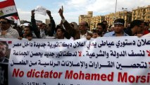 Egyptian protesters rally against President Morsi