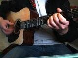 apprendre libres cosaques de vae victis a la guitare