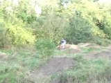 saut BMX dirt de Stephane Baquet