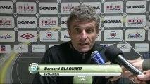 Conférence de presse Angers SCO - Tours FC : Stéphane MOULIN (SCO) - Bernard BLAQUART (TOURS)