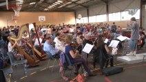 Répétition du concert Dogora avec les chorales Antiboises.