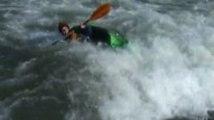 Kanu Freestyle in Plattling- das Team Baden trainiert