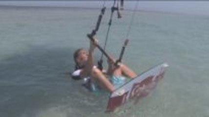 Kitesurfen lernen mit Kristin Boese