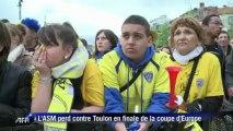 Coupe d'Europe de rugby: immense déception à Clermont-Ferrand