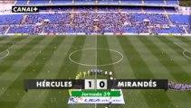 Liga Adelante  Hércules 1 Mirandés  0