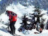 snowscoot ride