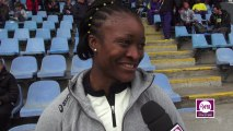 Antoinette Nana Djimou : « Plutôt satisfaite »