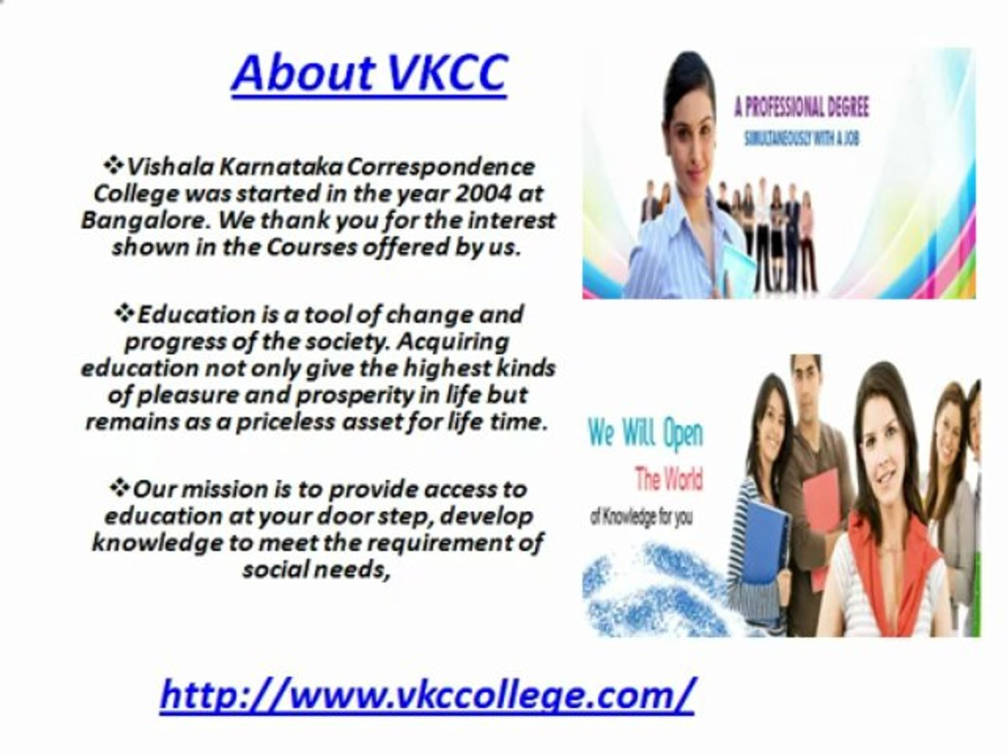 Correspondence Colleges And Courses In Bangalore Video Dailymotion