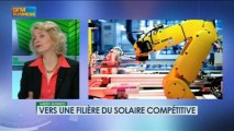 Vers une filière du solaire compétitive: Patricia Laurent/Christophe Magro, Green Business 19/05 3/4