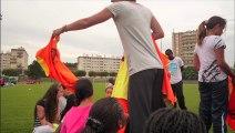 diaposonore sport au collège de Noisy-le-Sec