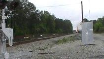 Norfolk Southern mixed freight northwest through Powder Springs Ga.