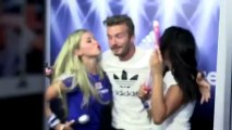 Adidas - David Beckham Pops Out at the PhotoBooth