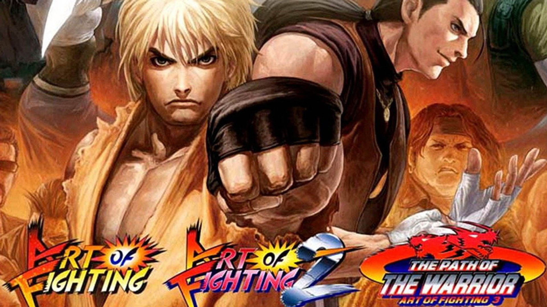 Cgr Undertow Art Of Fighting Anthology Review For Playstation 2 Video Dailymotion