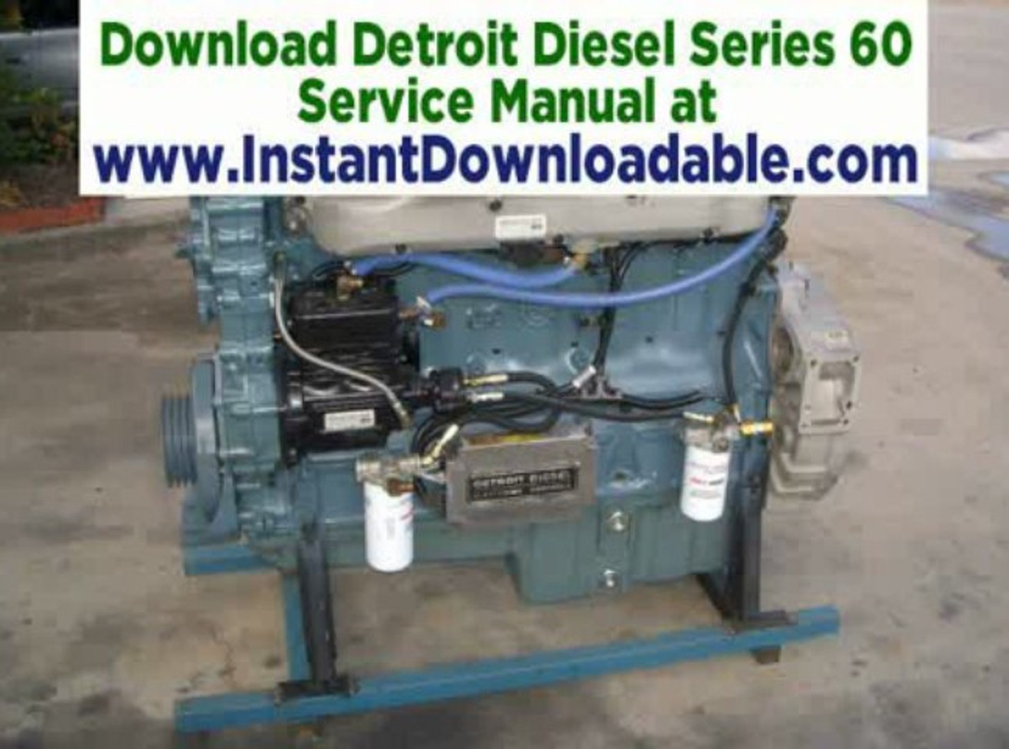 Detroit Diesel Series 60 >> Re Detroit Diesel Series 60 Turbo Blown Failure Theory And Logic Mci Bus Download Serice Manual