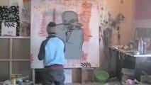 Atelier de Jo Brouillon, artiste peintre