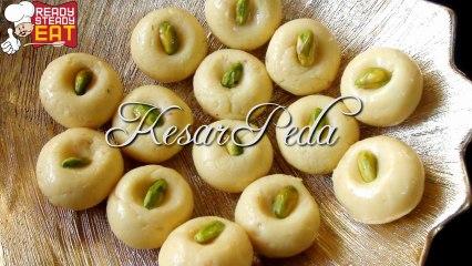 Kesar Peda - Indian Milk Dessert Recipe