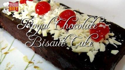 Royal Chocolate Biscuit Cake Recipe