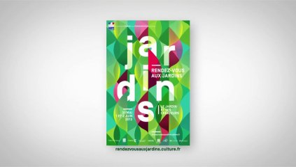 Spot de la 11ème édition des Rendez-vous aux jardins