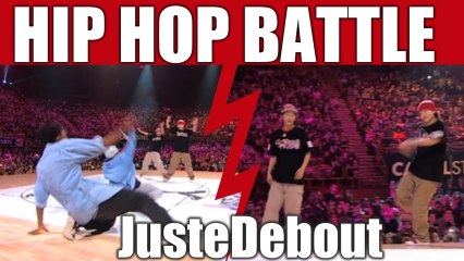 HIP-HOP style dance Battle Kyoka & Mika (Japan) vs Tea Leaf & Bowtox (Canada)