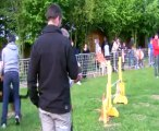 Concours de Saint Vrain 2013  FANFAN + DANA   JUMPING+