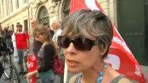 Manifestation des syndicats de l'enseignement supérieur
