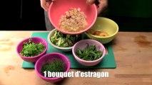 Salade de dorade aux nectarines