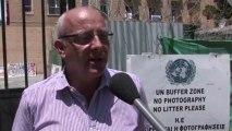"""Michel Bonnardeaux, porte-parole de l'ONU à Chypre : """"Tout le monde va se mettre d'accord pour une réunification"""""""