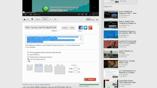 Adding a YouTube Video to Your SiteBuilder Site