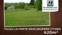 A vendre - terrain - LA FERTE SOUS JOUARRE (77260) - 620m²
