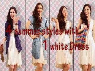 Pairings: 4 Ways to Wear a Dress