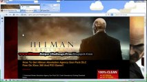 Hitman Absolution Agency Gun Pack Redeem Codes - Xbox 360 - PS3