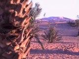 MAROC 2013 - MERZOUGA - soleil levant sur l'Erg Chebbi