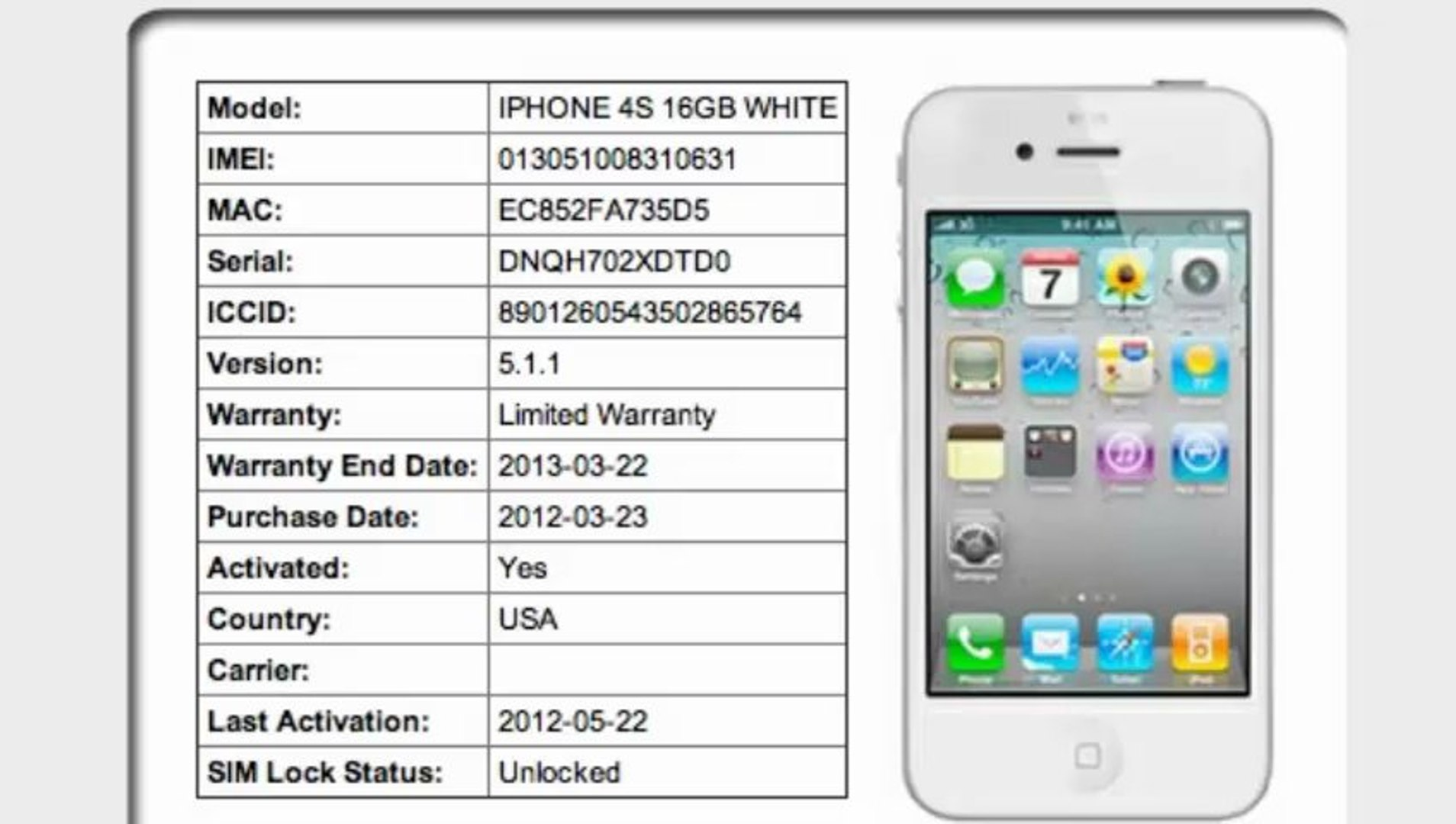 Activation date number mobile Activation Time