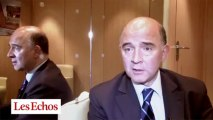 """Pierre Moscovici : """"Nous irons plus loin encore sur le CICE avec le concours des banques privées"""""""