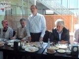AK PArti Manisa Milletvekili Uğur Aydemir, Akhisar Oda Başkanları ile kahvaltıda buluştu