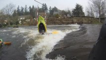 Kayak Freestyle à Lochrist: Kayak Gopro HD