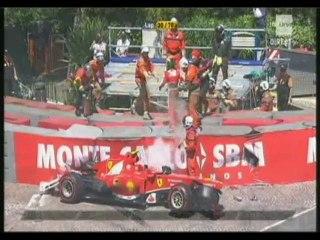 Monaco 2013 : Sortie de Massa