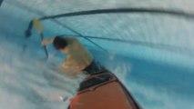 Piscine Kercado, CKCV esquimautages : Kayak Go Pro HD