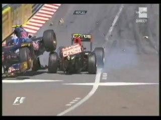 Monaco 2013 : accrochage entre Grosjean et Ricciardo
